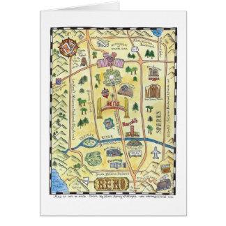 Carte de Reno