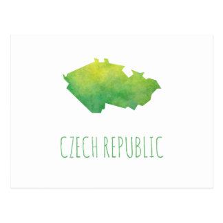 Carte de République Tchèque