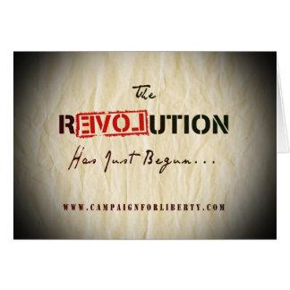 Carte de révolution