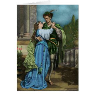 Carte de Romeo et de Juliet