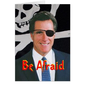 Carte de Romney Halloween