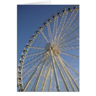 Carte de roue de Ferris