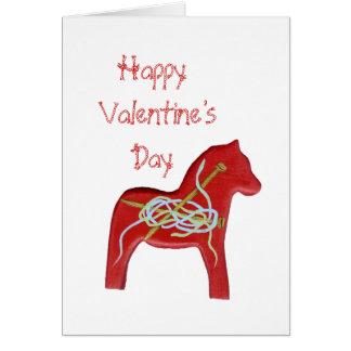 Carte de Saint-Valentin de tricoteuses