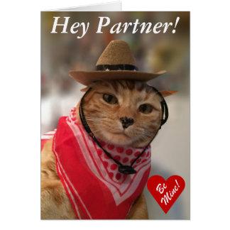 Carte de Saint-Valentin pour des amoureux de les