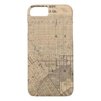 Carte de San Francisco Coque iPhone 7