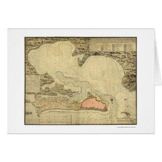 Carte de San Juan, Porto Rico 1785
