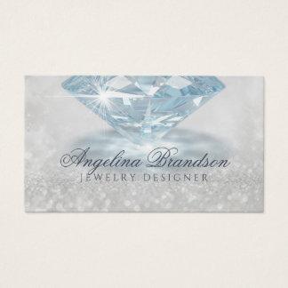 Carte de scintillement de concepteur de bijoux de