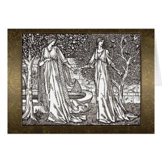 Carte de sépia de William Morris