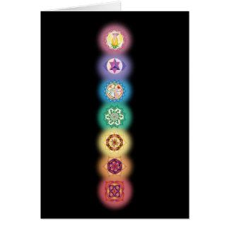 Carte de sept Chakras
