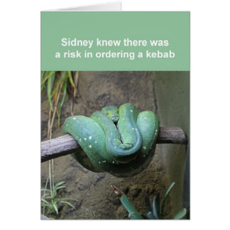 Carte de serpent