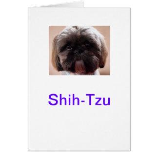 Carte de Shih-Tzu