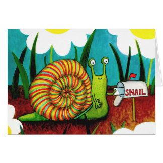 Carte de snail mail