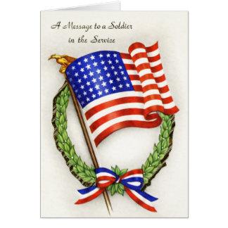 Carte de soldat de Merci