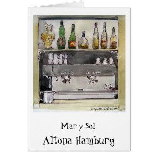 Carte de solénoïde Altona Hambourg de mars y