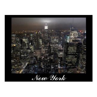 Carte de souvenir de New York de paysage urbain de Cartes Postales