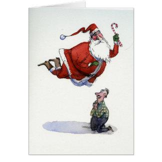 Carte de St Père Noël
