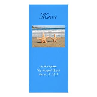 Carte de support de menu de mariage de couples d'é carte double customisable