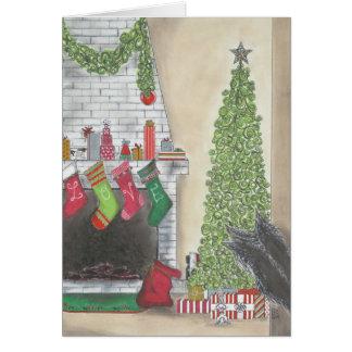 Carte de surprise de Noël