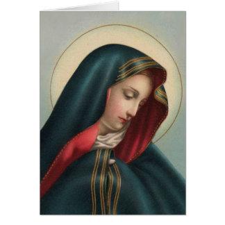 Carte de sympathie 0020 catholique w/verse