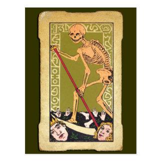 Carte de tarot 13 carte postale