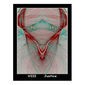 Carte de tarot de justice