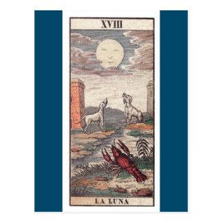 Carte de tarot de Luna de La Carte Postale