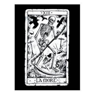 Carte de tarot de Mort de La Carte Postale
