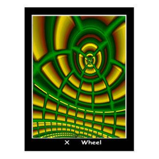 Carte de tarot de roue