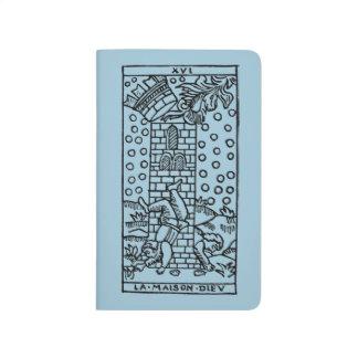 Carte de tarot : La maison de fous Carnet De Poche
