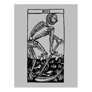 Carte de tarot : La mort