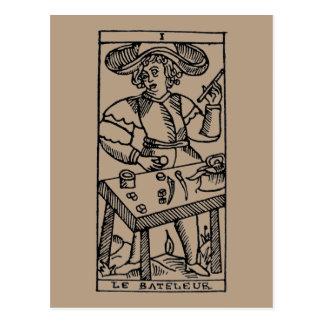 Carte de tarot : Le jongleur