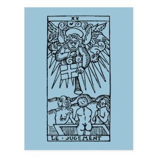 Carte de tarot : Le jugement