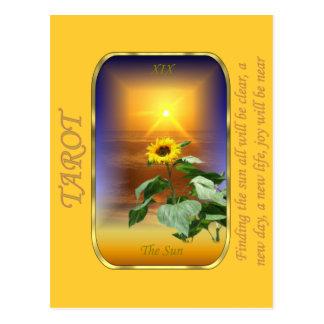Carte de tarot - The Sun