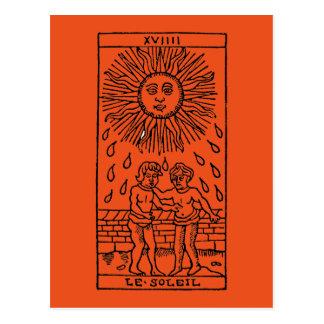 Carte de tarot : The Sun