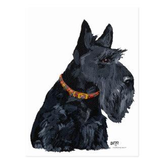 Carte de Terrier d'écossais