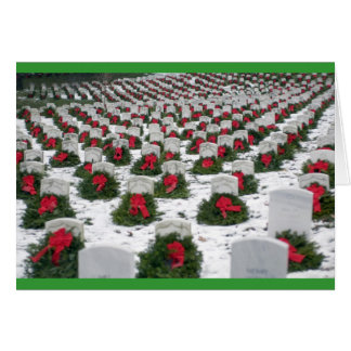Carte de tombes de Noël
