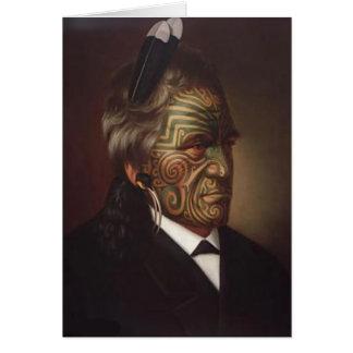 """Carte de """"Tomika Te Mutu"""" - Gottfried Lindauer"""
