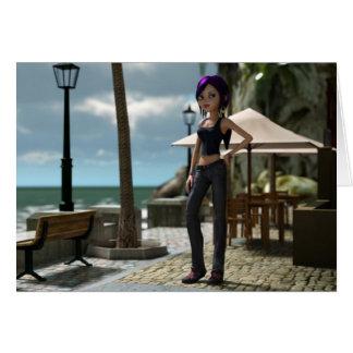 Carte de Toon Amy de bord de la mer