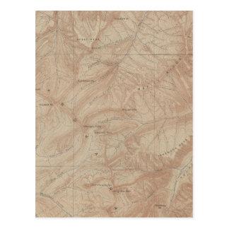 Carte de topographie, pièce nationale de
