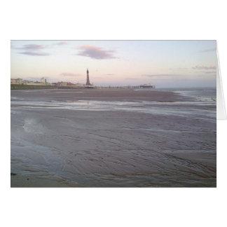 Carte de tour de Blackpool