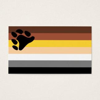 Carte de tour de drapeau d'ours