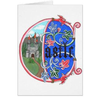 Carte de Tout-Occasion d'âge de château
