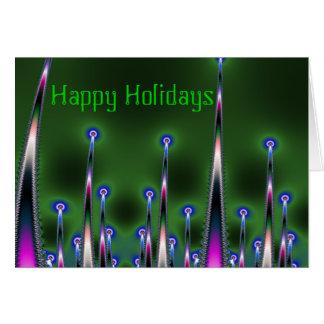Carte de transitoires bonnes fêtes