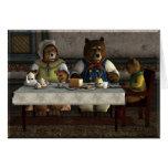 Carte de trois ours