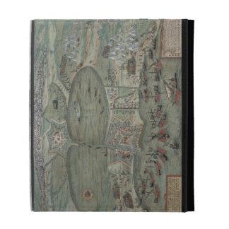 "Carte de Tunis, de ""Civitates Orbis Terrarum"" par  Étui iPad Folio"