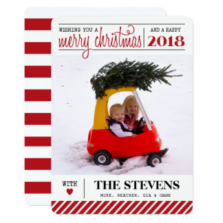 Carte de vacances de Joyeux Noël et de bonne année