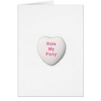 Carte de Valentine pour l'amie d'épouse