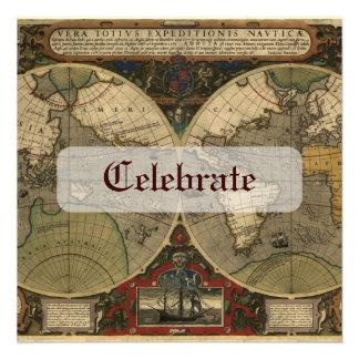 Carte de Vera Totius Expeditionis Bristols Personnalisés
