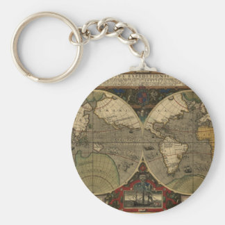 Carte de Vera Totius Expeditionis Porte-clef
