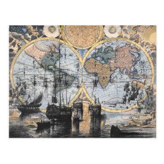 Carte de Vieux Monde - à la mer Carte Postale